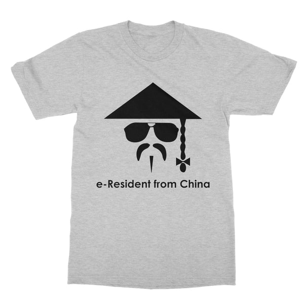 E-Residency Collection: China Softstyle T-Shirt