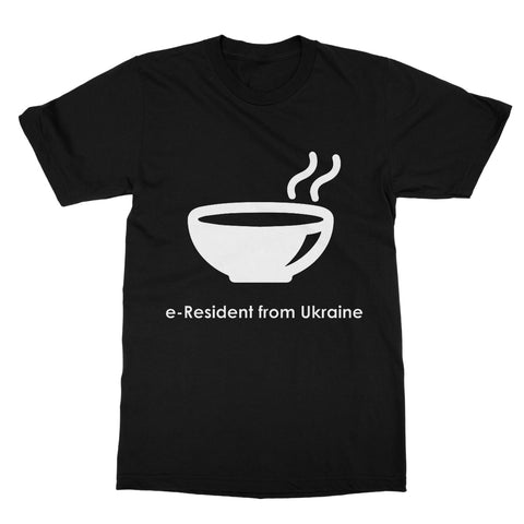 E-Residency Collection: Ukraine Softstyle T-Shirt