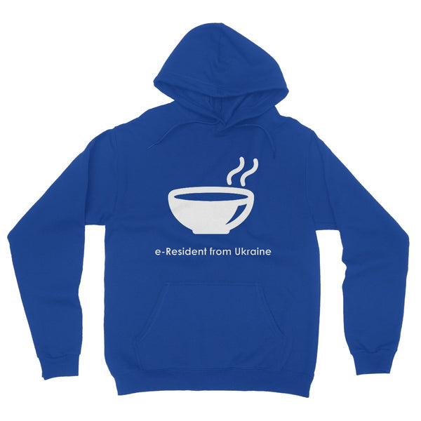 E-Residency Collection: Ukraine Fleece Pullover Hoodie