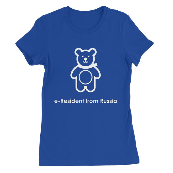 E-Residency Collection: Russia Women's Favourite T-Shirt
