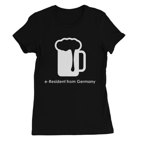 E-Residency Collection: Germany  Women's Favourite T-Shirt