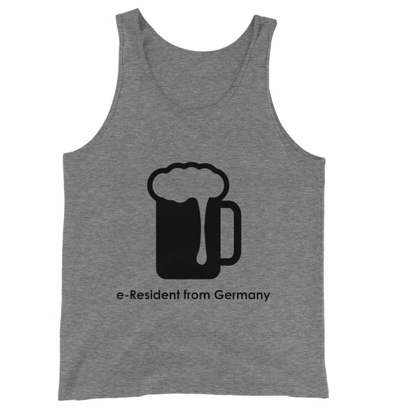 E-Residency Collection: Germany  Unisex Jersey Tank Top