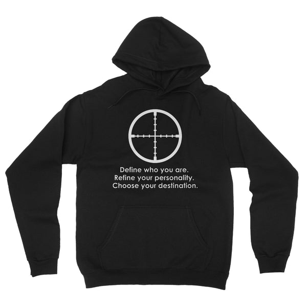 Define Who You Are Collection Fleece Pullover Hoodie