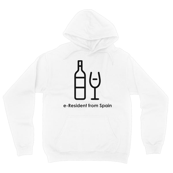 E-Residency Collection: Spain Fleece Pullover Hoodie