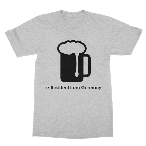 E-Residency Collection: Germany  Softstyle T-Shirt