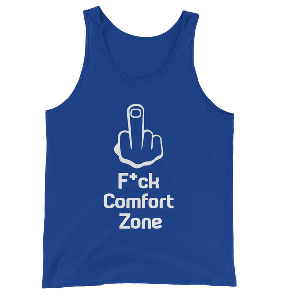 F*ck Comfort Zone Collection Unisex Jersey Tank Top