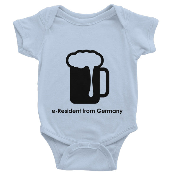 E-Residency Collection: Germany  Baby Bodysuit