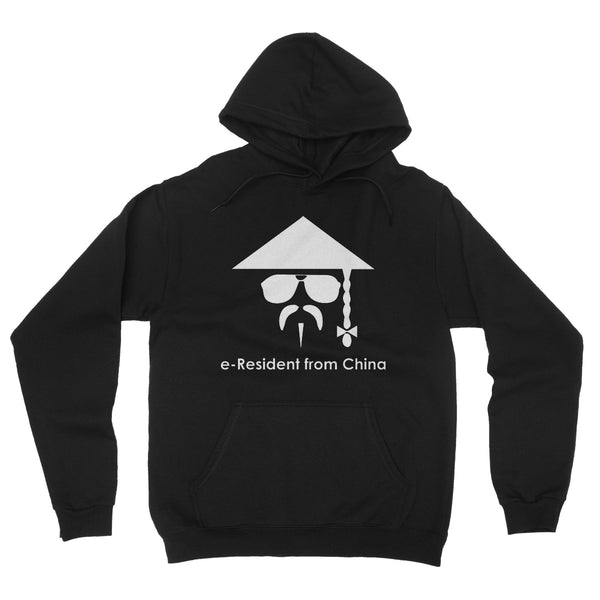 E-Residency Collection: China Fleece Pullover Hoodie