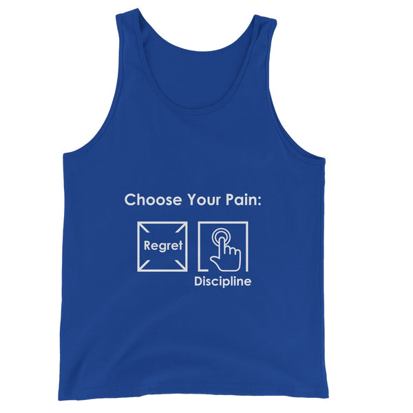 Discipline Collection  Unisex Jersey Tank Top