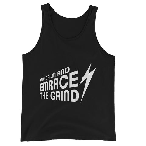 Embrace the Grind Collection Unisex Jersey Tank Top
