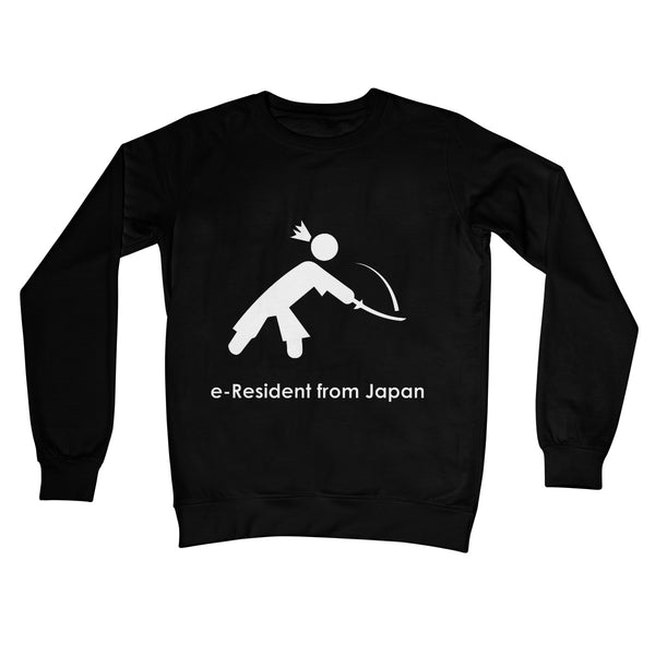 E-Residency Collection: Japan Crew Neck Sweatshirt