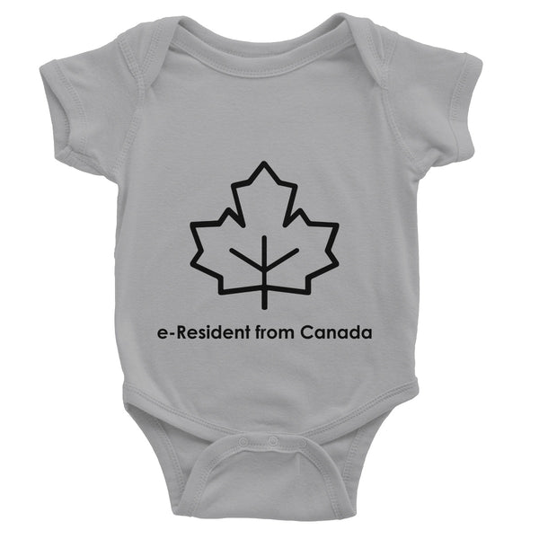 E-Residency Collection: Canada Baby Bodysuit