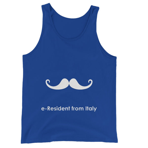 E-Residency Collection: Italy Unisex Jersey Tank Top