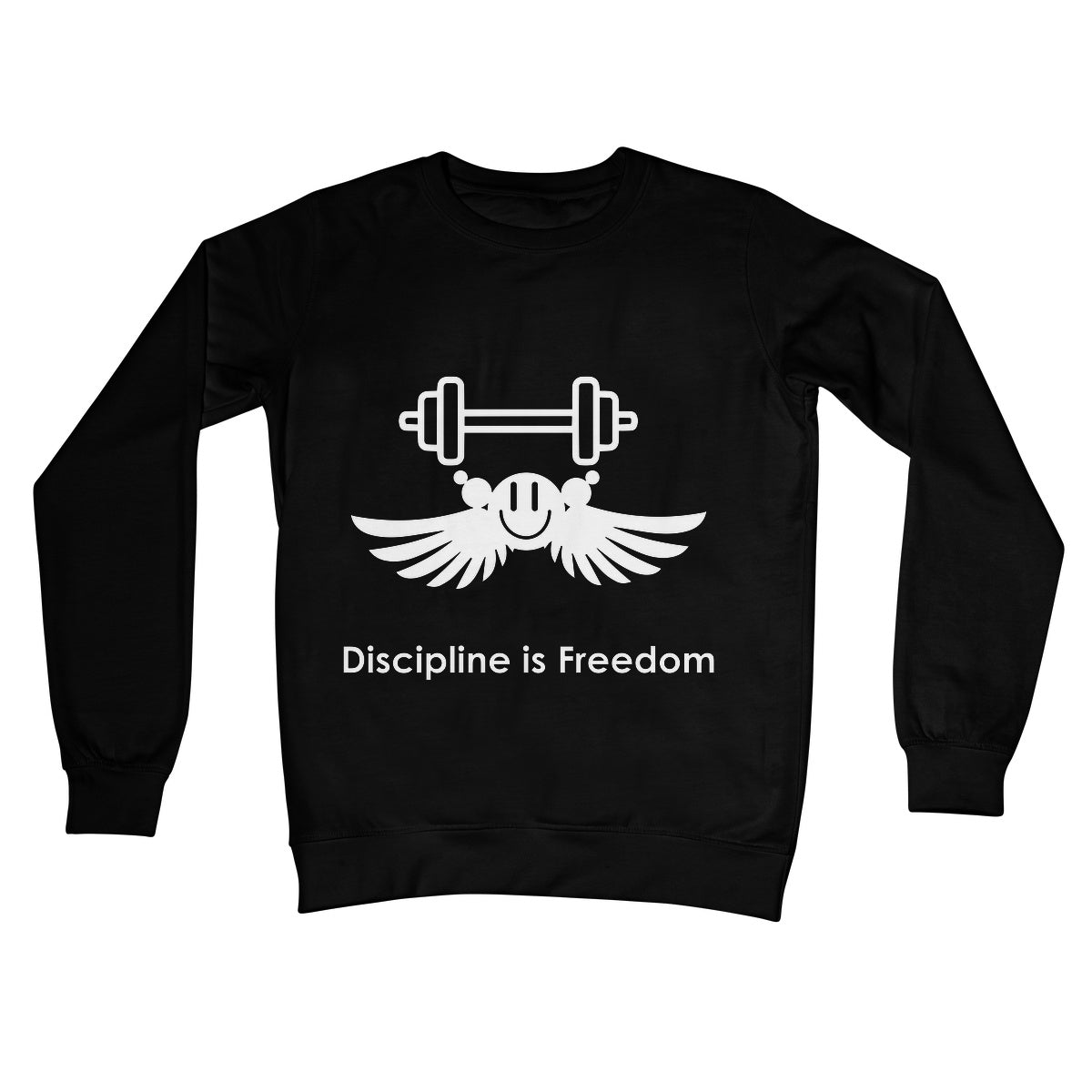 Discipline Is Freedom Collection Crew Neck Sweatshirt