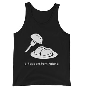 E-Residency Collection: Poland Unisex Jersey Tank Top