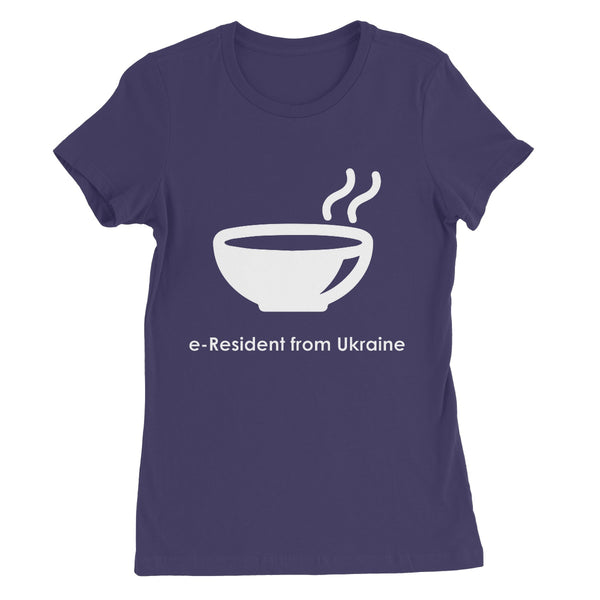 E-Residency Collection: Ukraine Women's Favourite T-Shirt