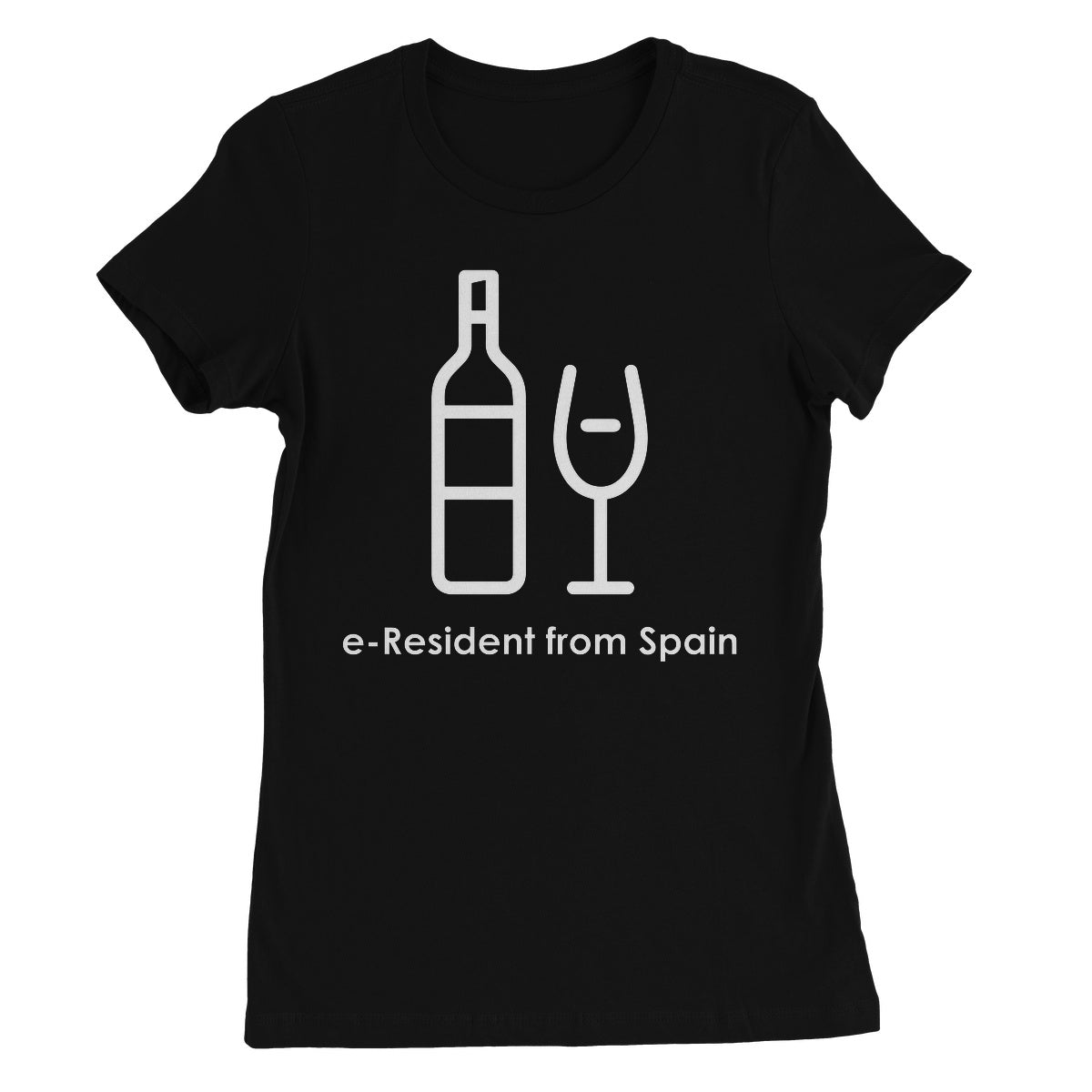 E-Residency Collection: Spain Women's Favourite T-Shirt