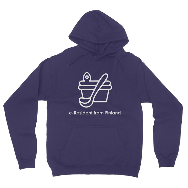 E-Residency Collection: Finland Fleece Pullover Hoodie
