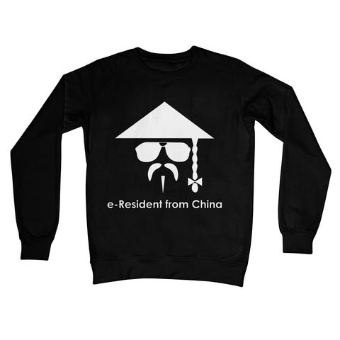 E-Residency Collection: China Crew Neck Sweatshirt