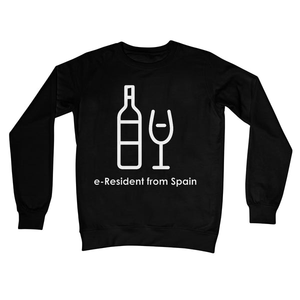 E-Residency Collection: Spain Crew Neck Sweatshirt
