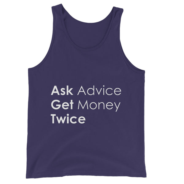 Ask Advice Collection Unisex Jersey Tank Top