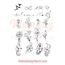 Load image into Gallery viewer, 20 sexy minimalist tattoo design for woman