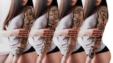 Load image into Gallery viewer, sleeve tattoo design high resolution download by tattoo artist
