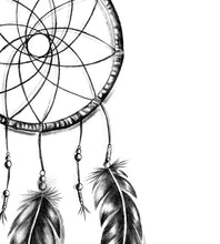 Load image into Gallery viewer, Realistic dreamcatcher sexy tattoo design high resolution download