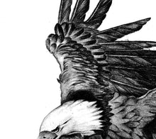 Load image into Gallery viewer, Realistic eagle design download high resolution download