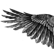 Load image into Gallery viewer, Realistic phoenix- tattoo design download