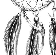 Load image into Gallery viewer, Sexy dreamcatcher - download tattoo design