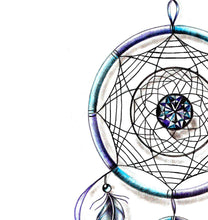 Load image into Gallery viewer, Sexy dreamcatcher tattoo desgin high resolution download