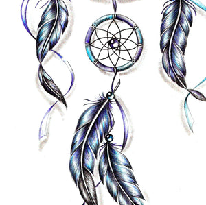 Sexy dreamcatcher tattoo desgin high resolution download