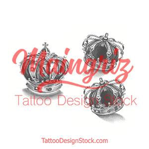 original crown tattoo design high resolution download