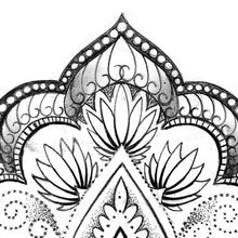 Load image into Gallery viewer, sexy wrist oriental mandala tattoo design references