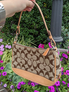 Coach Signature Canvas Handbag