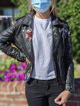 Load image into Gallery viewer, Blank NYC Leather Jacket M (8 10)