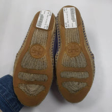 Load image into Gallery viewer, Tory Burch Blue Espadrilles Size 7