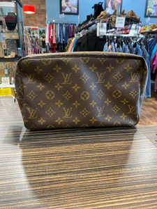 Louis Vuitton Leather Wristlet