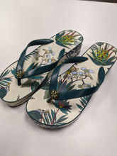 Load image into Gallery viewer, Tory Burch Wedge Flip Flops Size 7