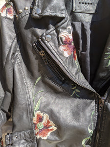 Blank NYC Leather Jacket M (8 10)