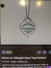 Load image into Gallery viewer, Tiffany & Co Dog Tag Necklace