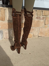 Load image into Gallery viewer, Sam Edelman Brown Tall Boots Size 7