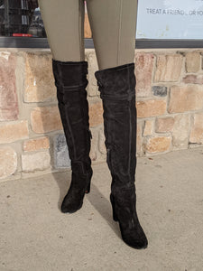 Sam Edelman Black Tall Boots Size 7