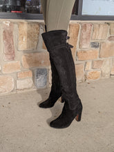 Load image into Gallery viewer, Sam Edelman Black Tall Boots Size 7