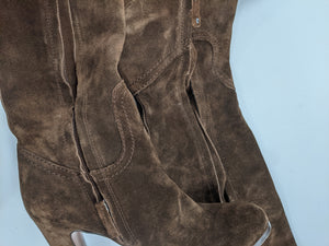 Sam Edelman Brown Tall Boots Size 7