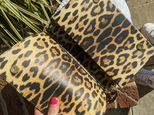 Moschino Cheetah Crossbody