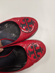 Tory Burch Red Flats Size 8