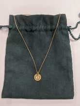 "Load image into Gallery viewer, David Yurman ""B"" Initial 750 Gold with Diamonds Necklace"
