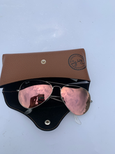 Load image into Gallery viewer, Silver Ray Ban Sunglasses